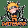 DattebaYo!: Naruto's shout Icon