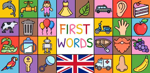 First Words - UK (baby/toddler/kids flashcards) apk