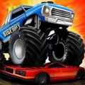 Monster Truck Driving Icon
