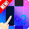 Free Music Tile Piano Challenge:  Pink Piano Tiles Icon