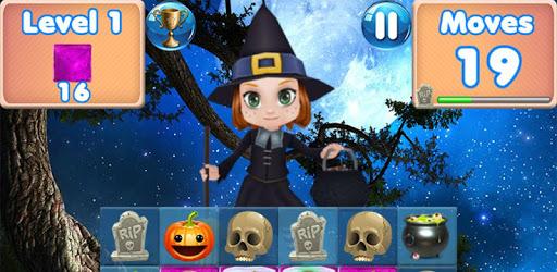 Halloween Games 2 - fun puzzle games match 3 games apk