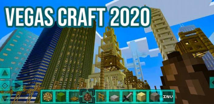 CraftVegas 2020 Game : Crafting & Building apk