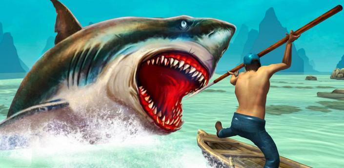 Wild animals - shark hunting apk