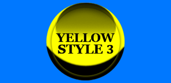 Yellow Icon Pack Style 3 ✨Free✨ apk