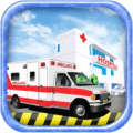 Emergency Ambulance Van Rescue Icon