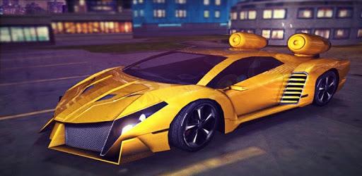 Free Sports Car Flying 3d 2018 apk