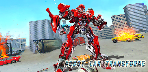 Robot Car Transforme apk