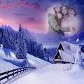 Winter Photo Frame Icon