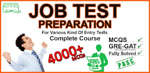 Job Preparation app Pakistan: mcqs: GRE-GAT Solved apk