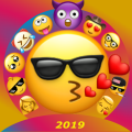 Big Emoji Stickers WAStickerApps Icon