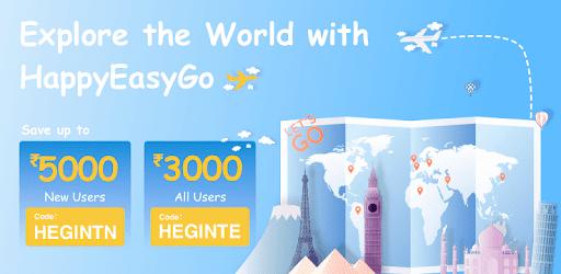 HappyEasyGo - Cheap Flight & Hotel Booking App apk