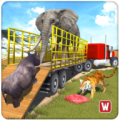 Offroad Wild Animals Transport Icon