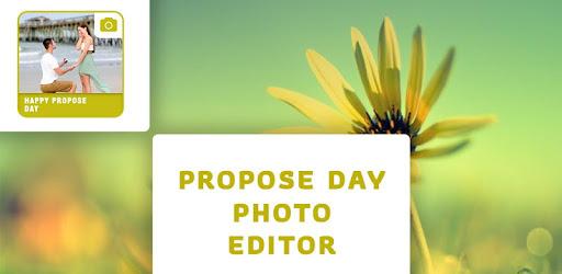 Propose Day Photo Editor apk