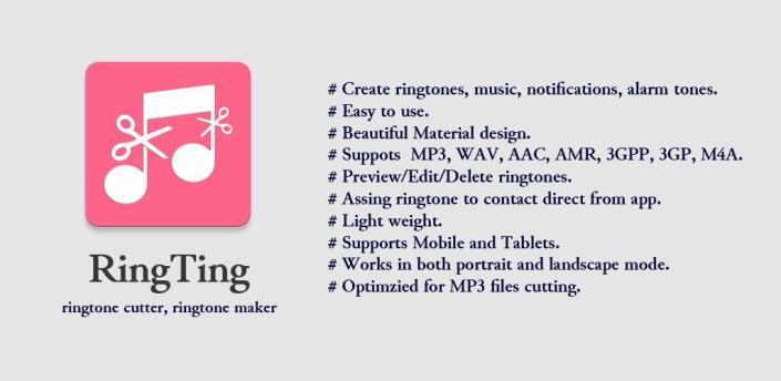 Ringtone Maker RingTing apk