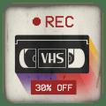 VHS Camera Recorder Icon