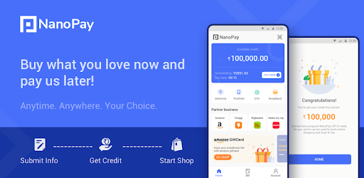 NanoPay - Buy Now, Pay Later in EMI apk