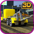 Car Tow Truck Simulator 3D Icon