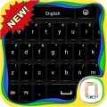 Black Keyboard theme Icon