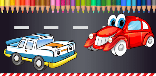Cars Coloring Pages for Kids apk