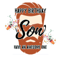 Happy Birthday Son wishes, Quotes & Greeting Cards Icon