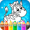 Coloring pages for children: animals Icon