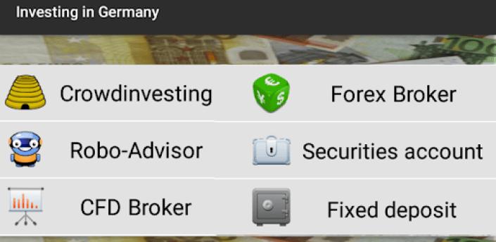 Investing in Germany apk