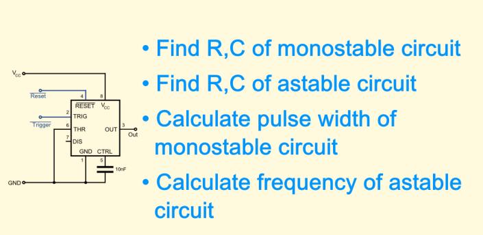 Timer IC 555 Calculator apk