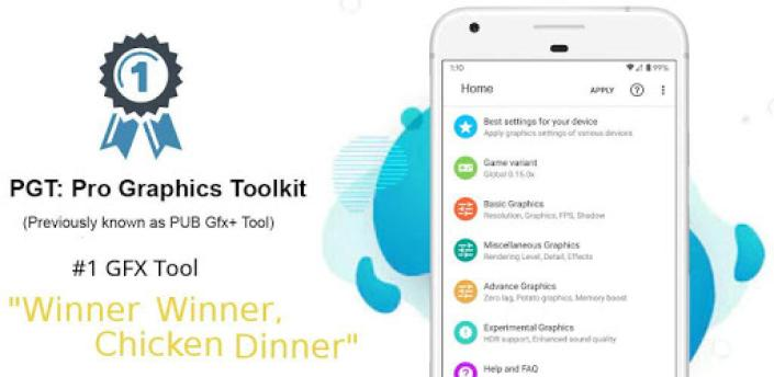 PGT +🔧: Pro GFX & Optimizer(with advance setting) apk