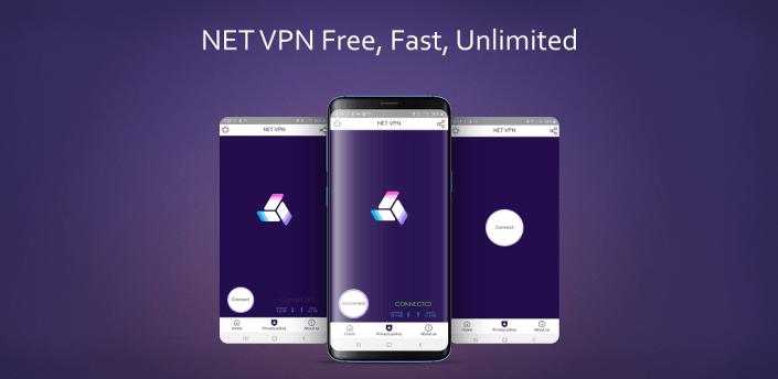 NET VPN Free, Fast, unlimited secure hotspot proxy apk