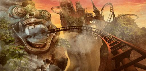 VR Roller Coaster Temple Rider apk