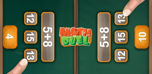 Math Duel: 2 Player Math Game apk