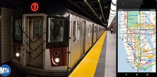 Map of NYC Subway - Offline MTA apk
