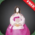 Hanbok Dress Photo Montage Icon