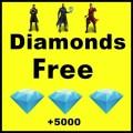win Free ╤ Fire Diamond  2021 Icon