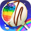 Rainbow Desserts Bakery Party Icon