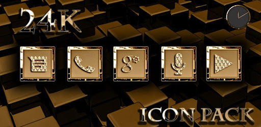24K Icon Pack apk