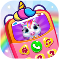 Baby Princess Phone: My Baby Unicorn Care For Kids Icon