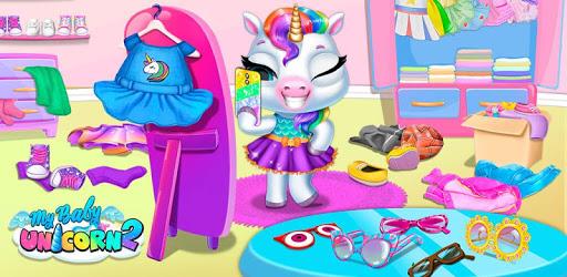 My Baby Unicorn 2 - New Virtual Pony Pet apk