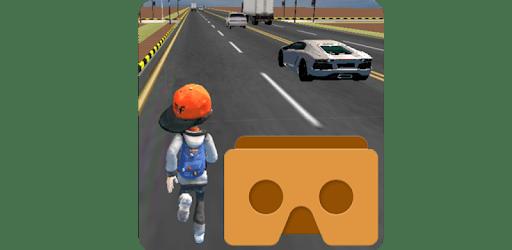 VR Traffic Run 360 apk