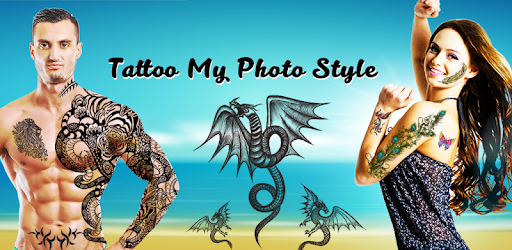 Tattoo My Photo Styles - Tattoo design apps apk