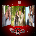 Love Photo Video With Song Icon