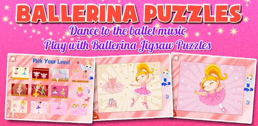 Ballerina Kids Games Free apk