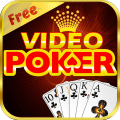 Video Poker Game - Royal Flush Icon
