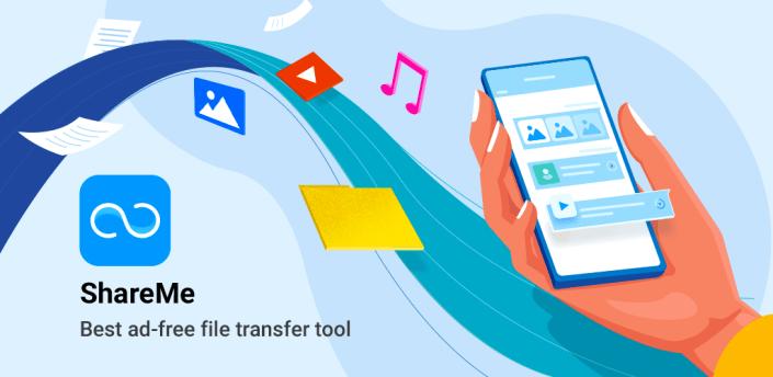 ShareMe (MiDrop) - Transfer files without internet apk