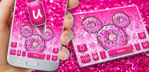 Sugar Donut Minny Keyboard Theme apk