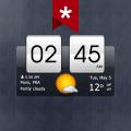 Sense Flip Clock & Weather (Ad-free) Icon