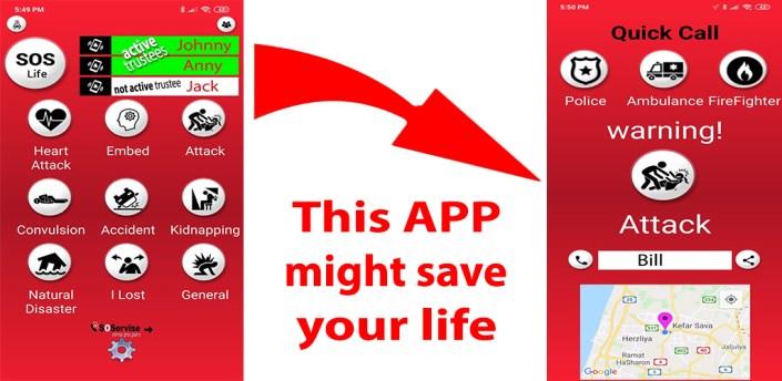 SOS Lifesaver - the best life saving Emergency app apk