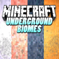 Underground Biomes Constructs Mod  for MCPE Icon