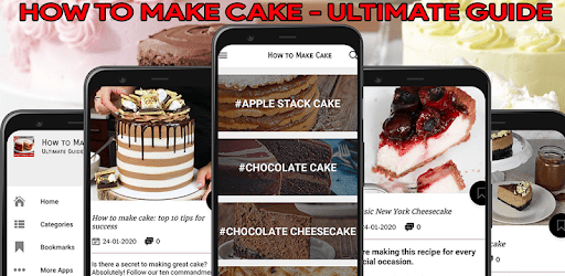 How to Make Cake – Guide for Make a Cake apk