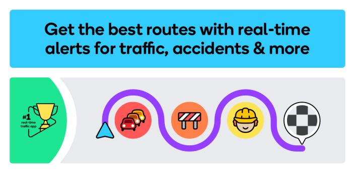 Waze - GPS, Maps, Traffic Alerts & Sat Nav apk